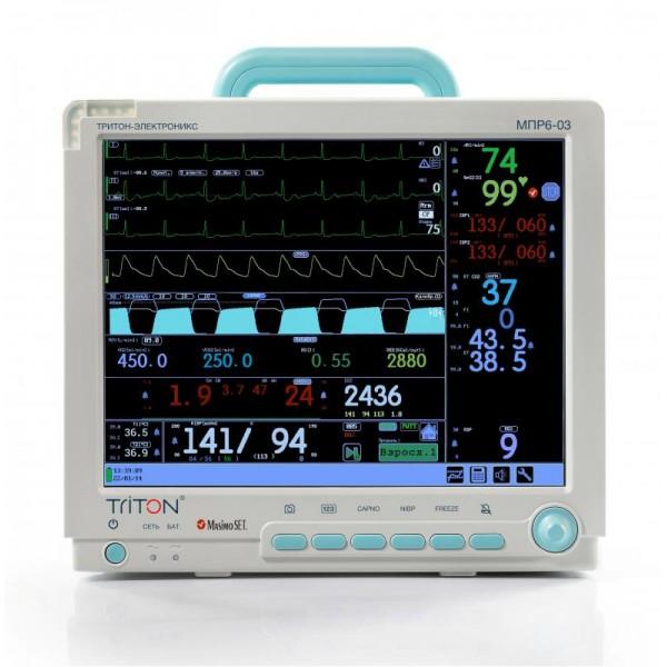 Монитор пациента МПР6-03 КОМПЛЕКТАЦИЯ А1.18