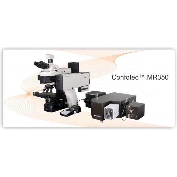 Компактные Рамановские конфокальные микроскопы моделей Confotec MR350 (520 и 750)
