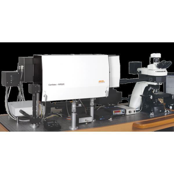 3D сканирующий лазерный Рамановский микроскоп Confotec NR500