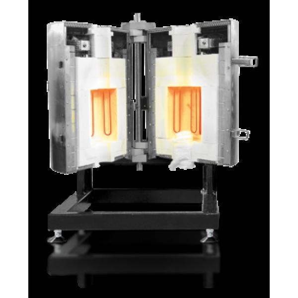 Раскладные трубчатые печи до 1700°C - HTRV-A