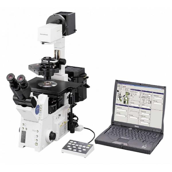 Исследовательский микроскоп Olympus IX81