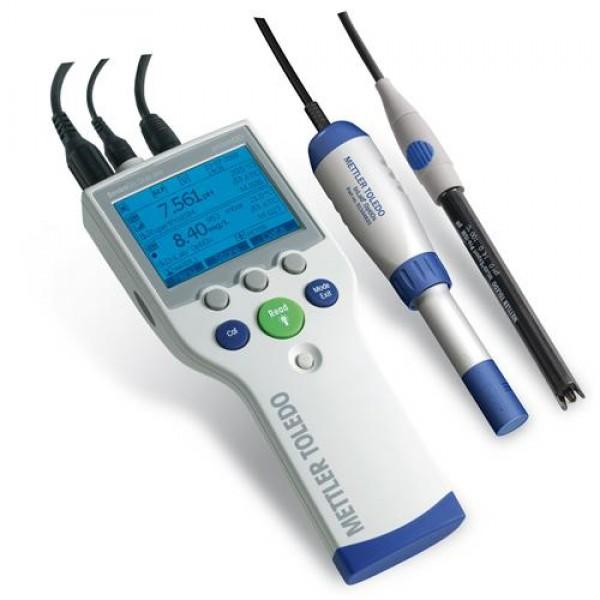 Профессиональный прибор для оптического измерения растворенного кислорода SG9 SevenGo pro