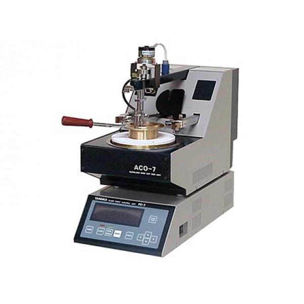 Автоматический аппарат для определения температуры вспышки в открытом тигле Кливленда АСО-7