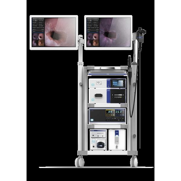 Видео-эндоскопическая стойка экспертного класса Aohua AQ-100 с режимом виртуально хромоскопии