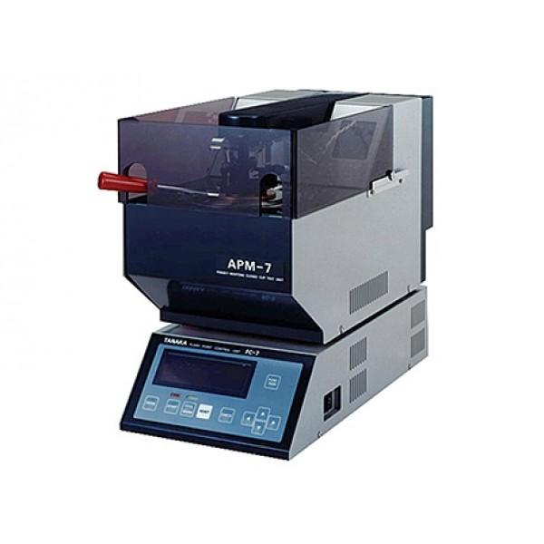 Автоматический аппарат для определения температуры вспышки в закрытом тигле Пенски-Мартенса АРМ-7