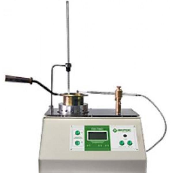 Аппарат полуавтоматический для определения температуры вспышки в открытом тигле ПЭ-ТВО