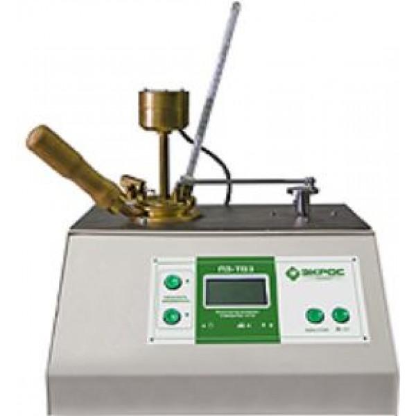 Аппарат полуавтоматический для определения температуры вспышки в закрытом тигле ПЭ-ТВЗ