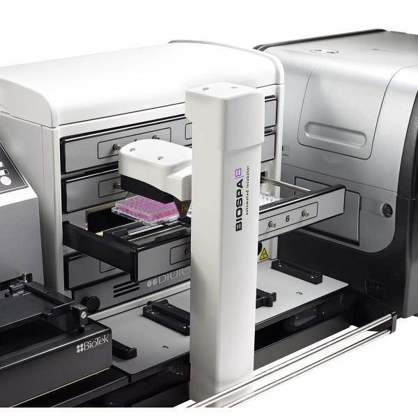 Автоматизированный планшетный инкубатор для клеток BioSpa 8