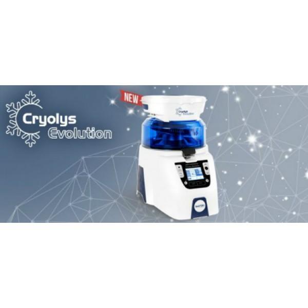 Система для автоматического охлаждения образов в процессе гомогенизации Cryolys Evolution