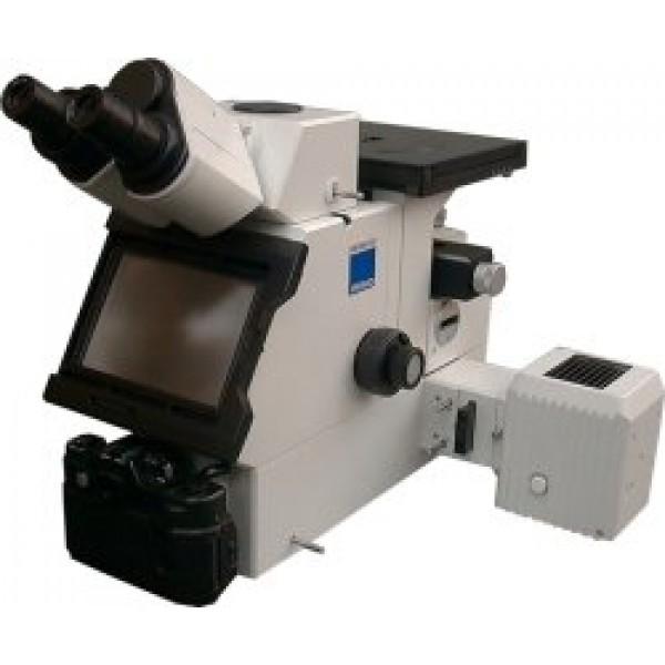 Металлографический инвертированный микроскоп МЕТАМ ЛВ
