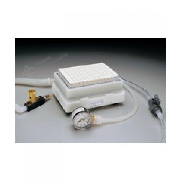 Вакуумный блок для твердофазной экстракции MultiScreen Vacuum Manifold