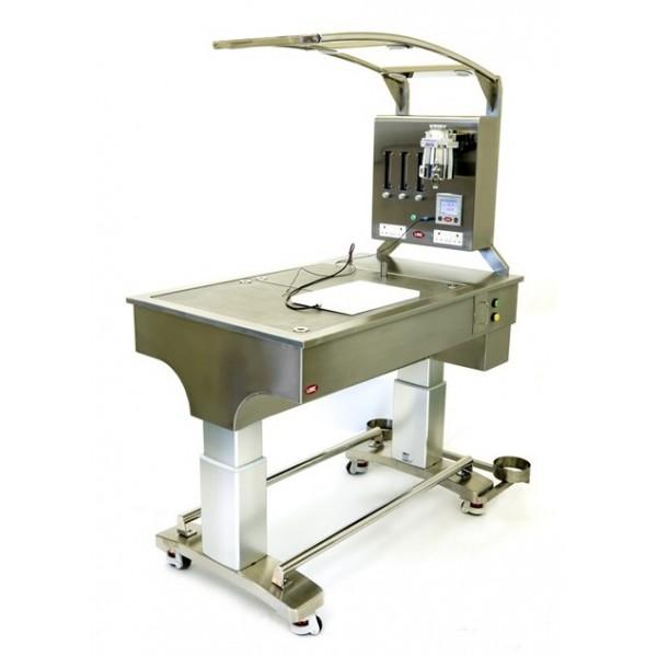 Мобильный операционный стол для проведения хирургических манипуляций на мелких и средних животных