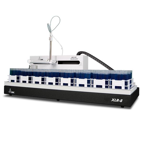 XLR-8 экономичный автосамплер на 8 штативов