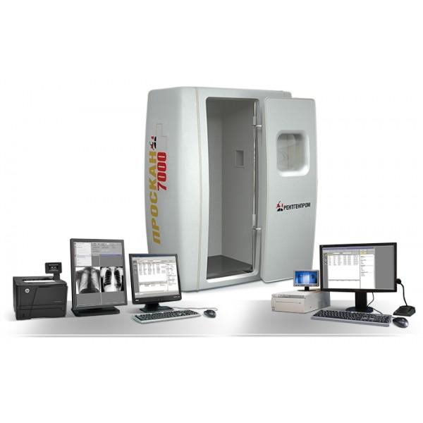 Малодозовый сканирующий цифровой флюорограф ПроСкан-7000