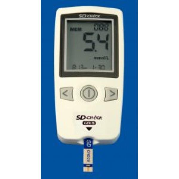 Анализатор-глюкометр для определения in vitro глюкозы в крови SD Check Gold