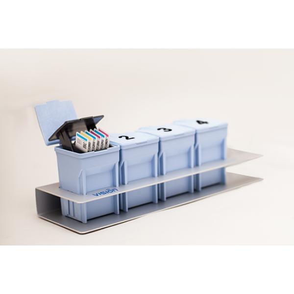 Ручной стейнер на 4 емкости V-Chromer® Mini I