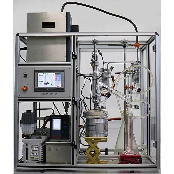 Лабораторная вакуумная дистилляционная установка LabDist 1160SA