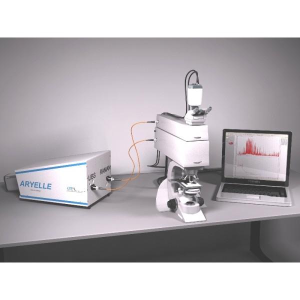 Микроскоп с зондами LIBS-RAMAN-Microscope