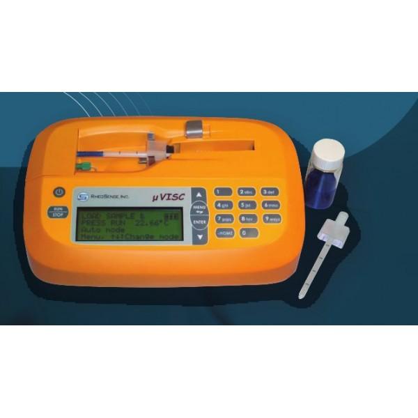 µVISC. Портативный миниатюрный вискозиметр.