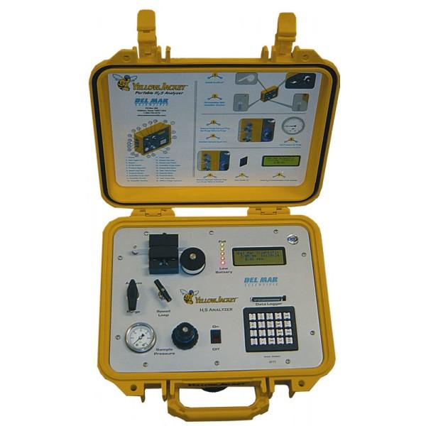 Yellow Jacket. Портативный анализатор содержания сервоводорода в газах