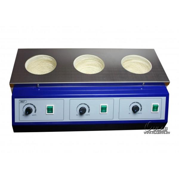 Колбонагреватель трехместный UT-4100-3