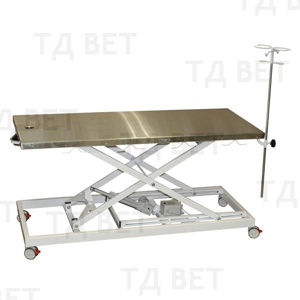 Стол ветеринарный VETBOT со сливом и штативом